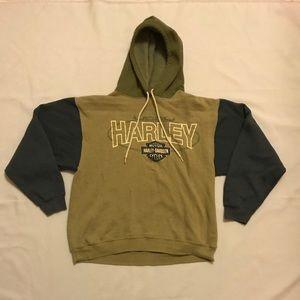 Harley Davidson Motorcycle Hoodie Sweatshirt